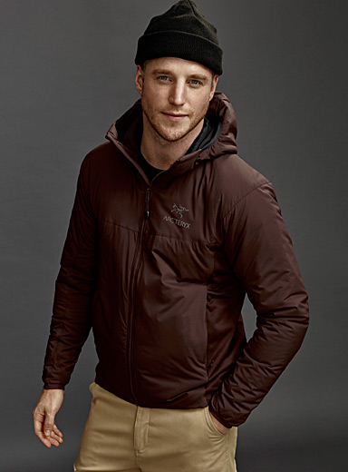 Atom LT hooded jacket  Fitted style