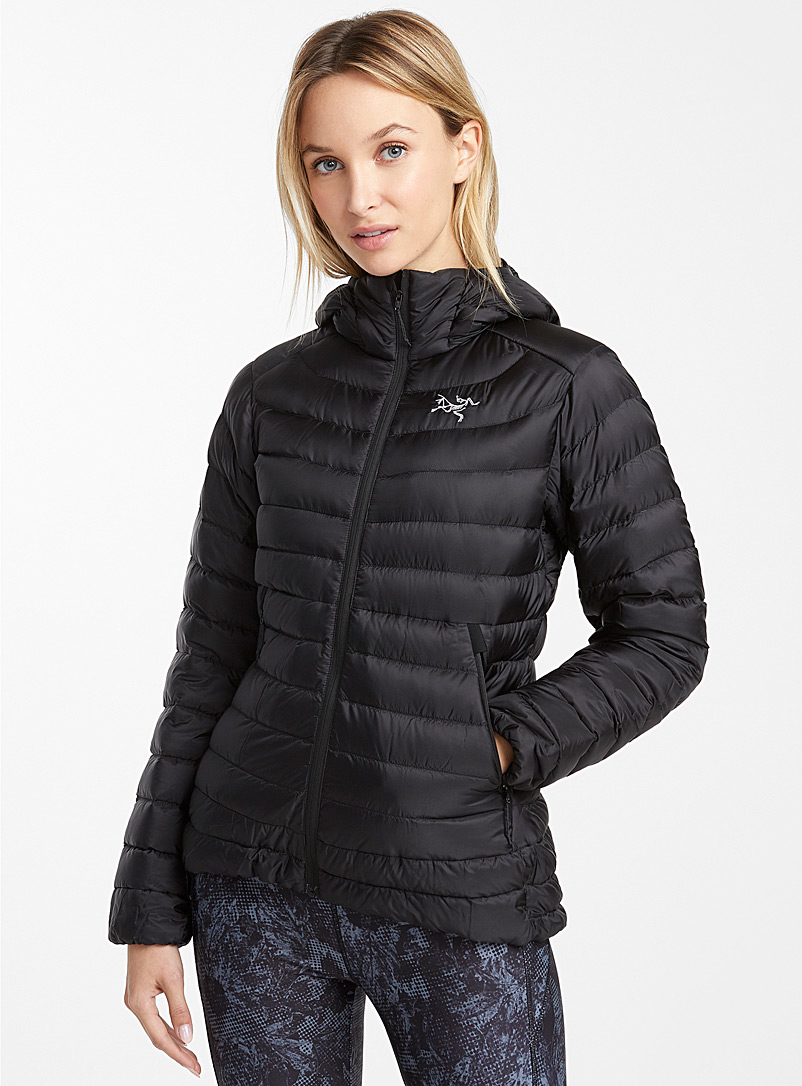 Arc'teryx Black Cerium LT quilted jacket  Fitted style for women