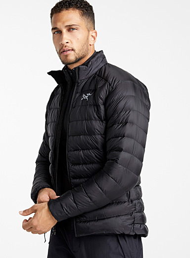 Arc'teryx Black Cerium LT quilted jacket  Fitted style for men