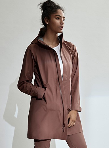 Arc'teryx Medium Brown Andra shell coat for women