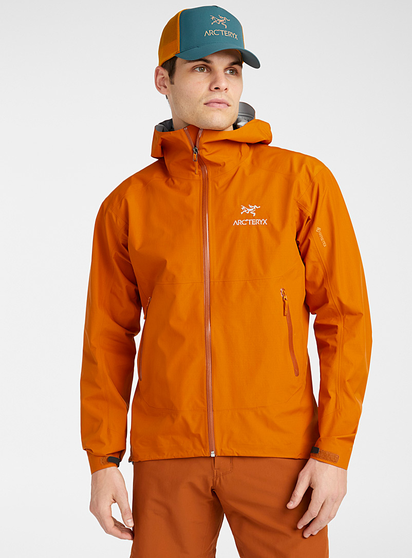 Arc'teryx Copper Zeta SL shell coat  Fitted style for men