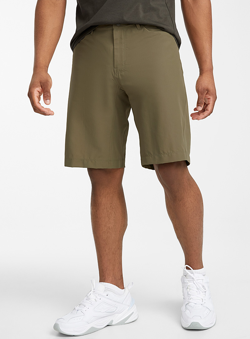 Arc'teryx Khaki Creston short for men