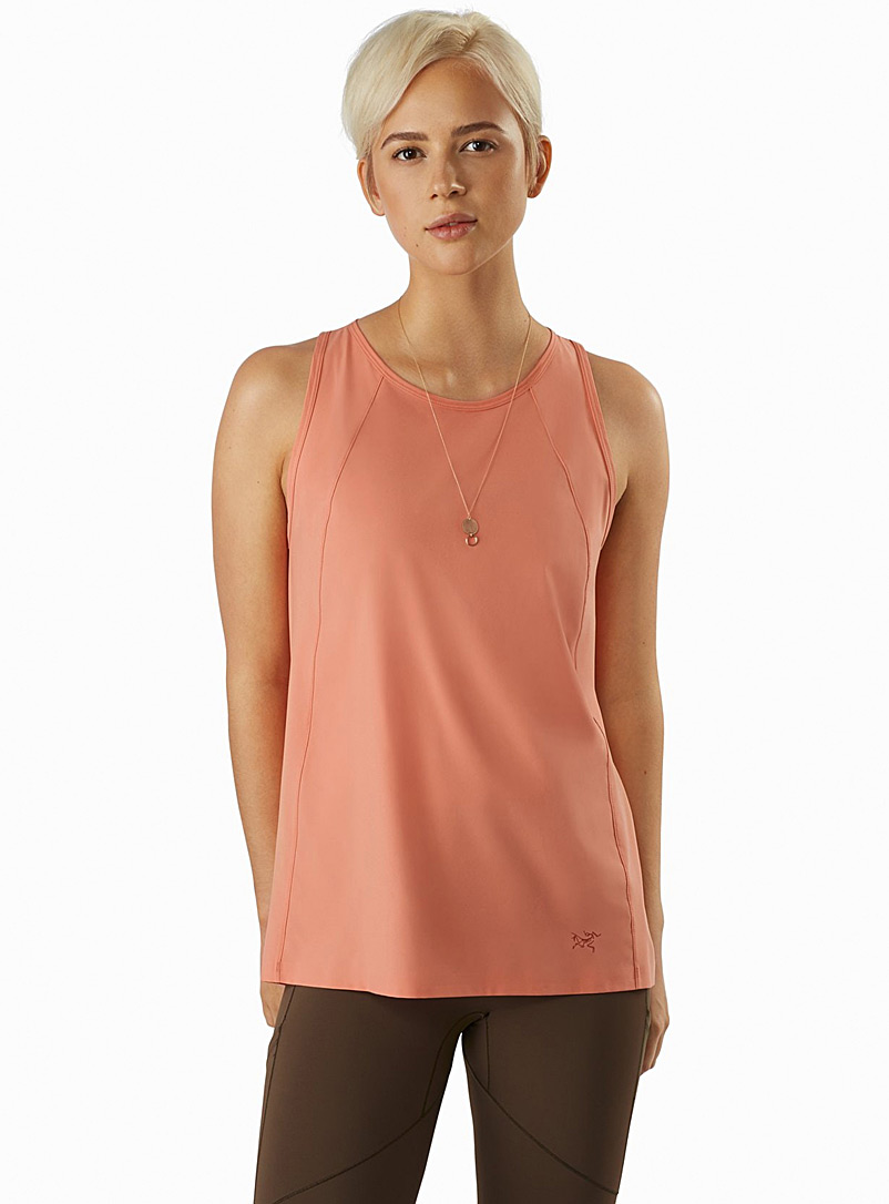 Arc'teryx Pink Contenta raglan cami for women