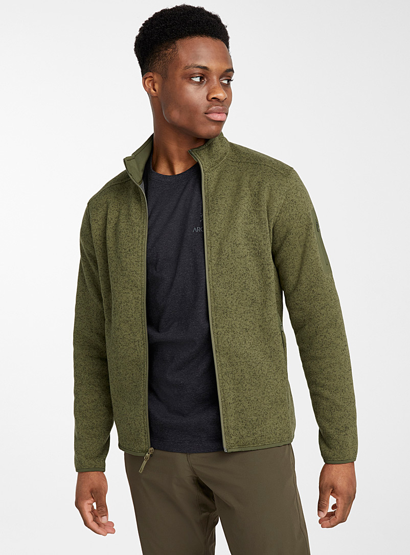 le-cardigan-tricot-polaire-covert