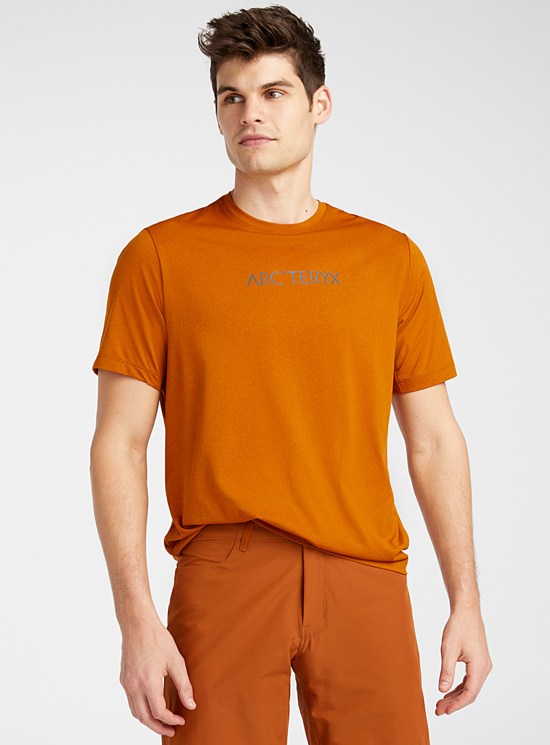 Arc'teryx Copper Signature lettering tee for men