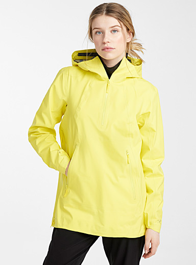 Arc'teryx Bright Yellow Venda anorak  Relaxed fit for women