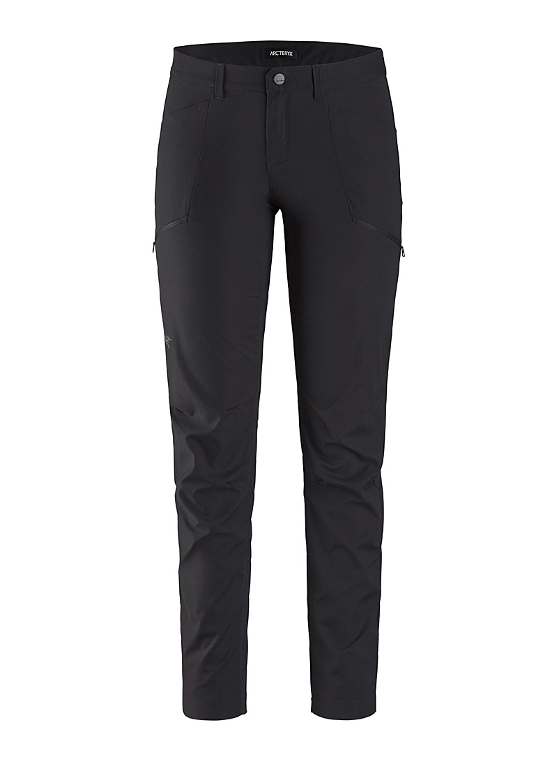 Arc'teryx Black Kyla articulated pant for women