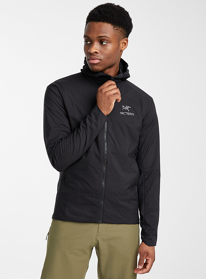 Arc'teryx Black Atom SL hooded jacket  Fitted style for men