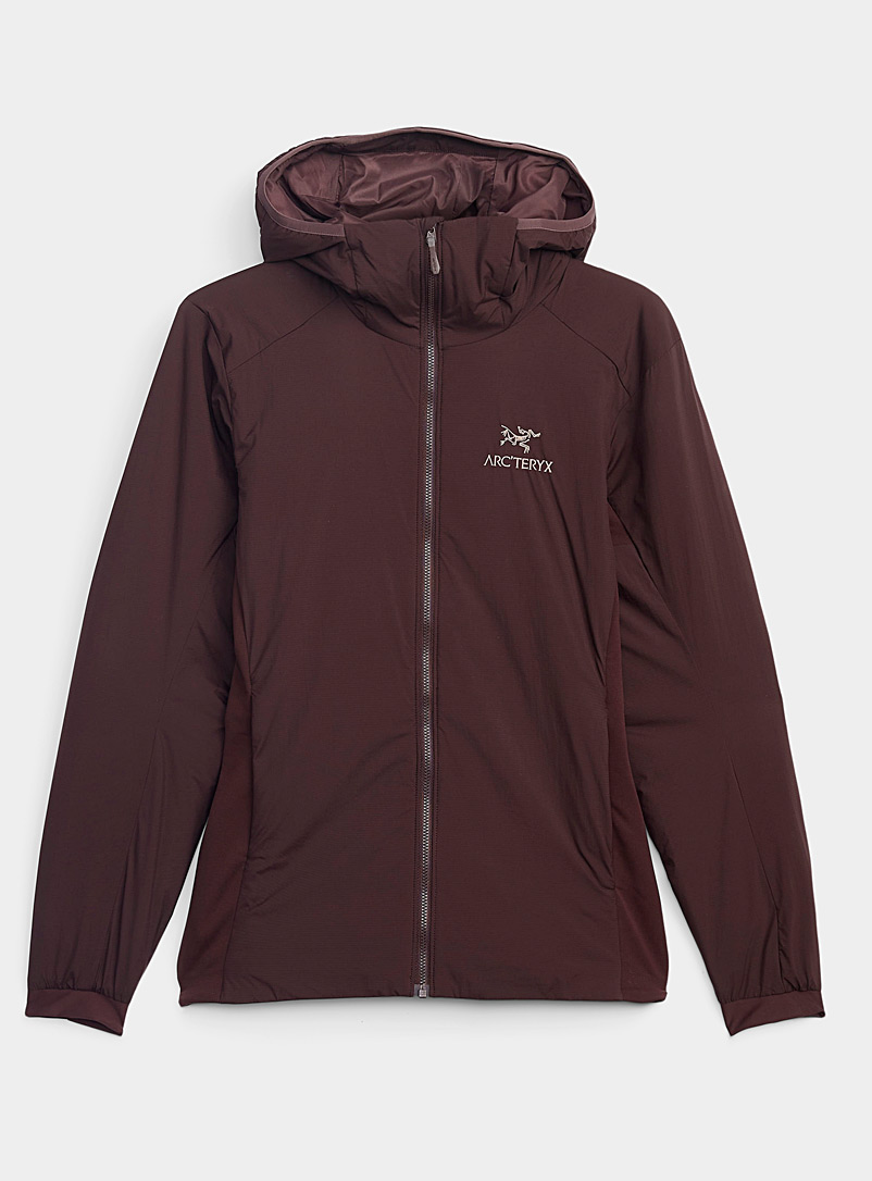 Arc'teryx Ruby Red Atom LT featherweight jacket for women