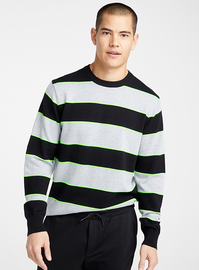 neon-highlighted-block-stripe-sweater