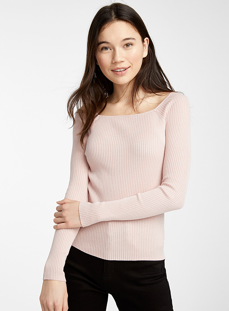 recycled-cotton-ribbed-square-neck-sweater