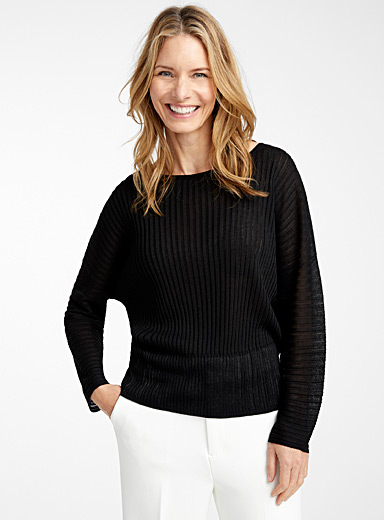 Le pull fluide manches dolman