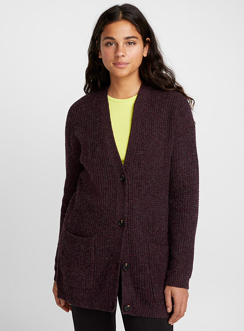 buttoned-waffle-cardigan