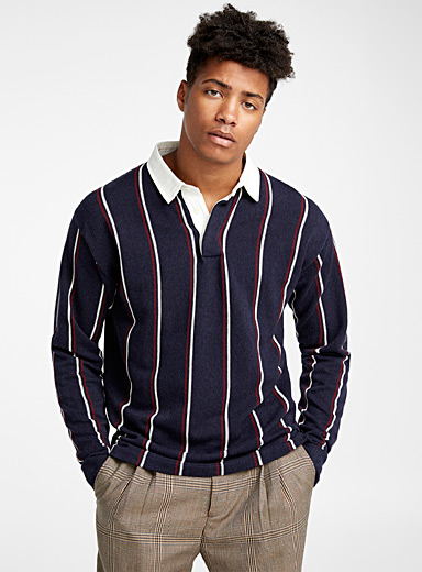 Le pull polo rugby
