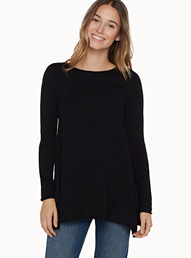 Trapeze crew-neck sweater