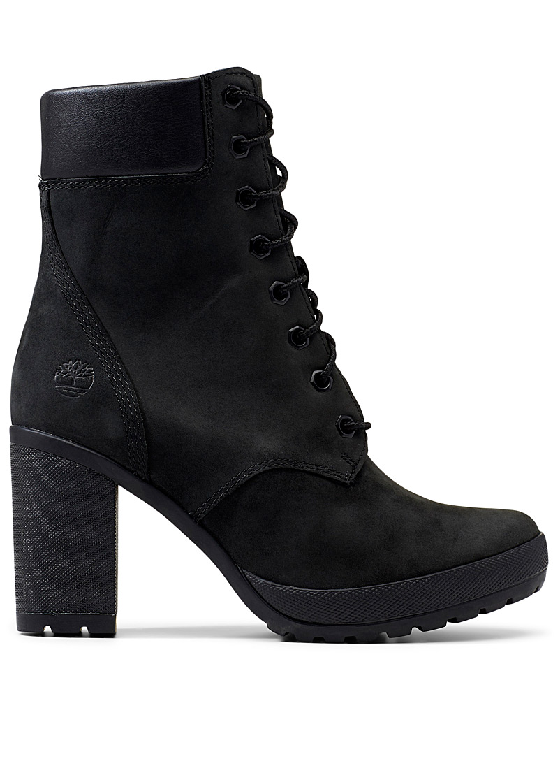 Camdale laced heeled boots - Heels - Black