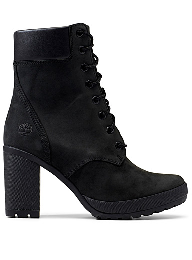 Camdale laced heeled boots