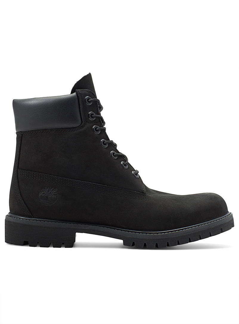 Timberland Black 6-inch iconic boots Men for men