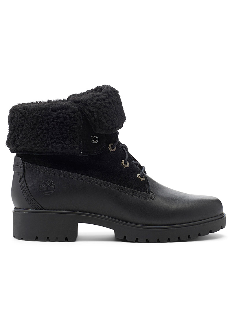 Timberland Black Jayne waterproof boots for women