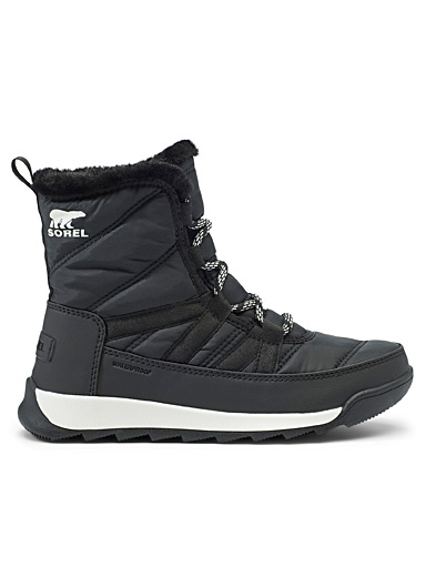 Sorel Black Whitney II low-cut quilted boot  Women for women