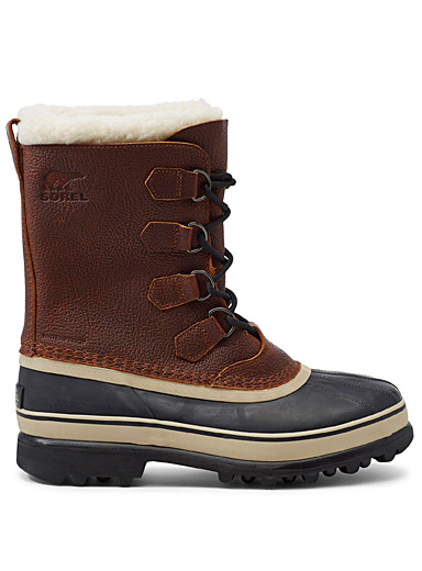 Caribou wool waterproof boots