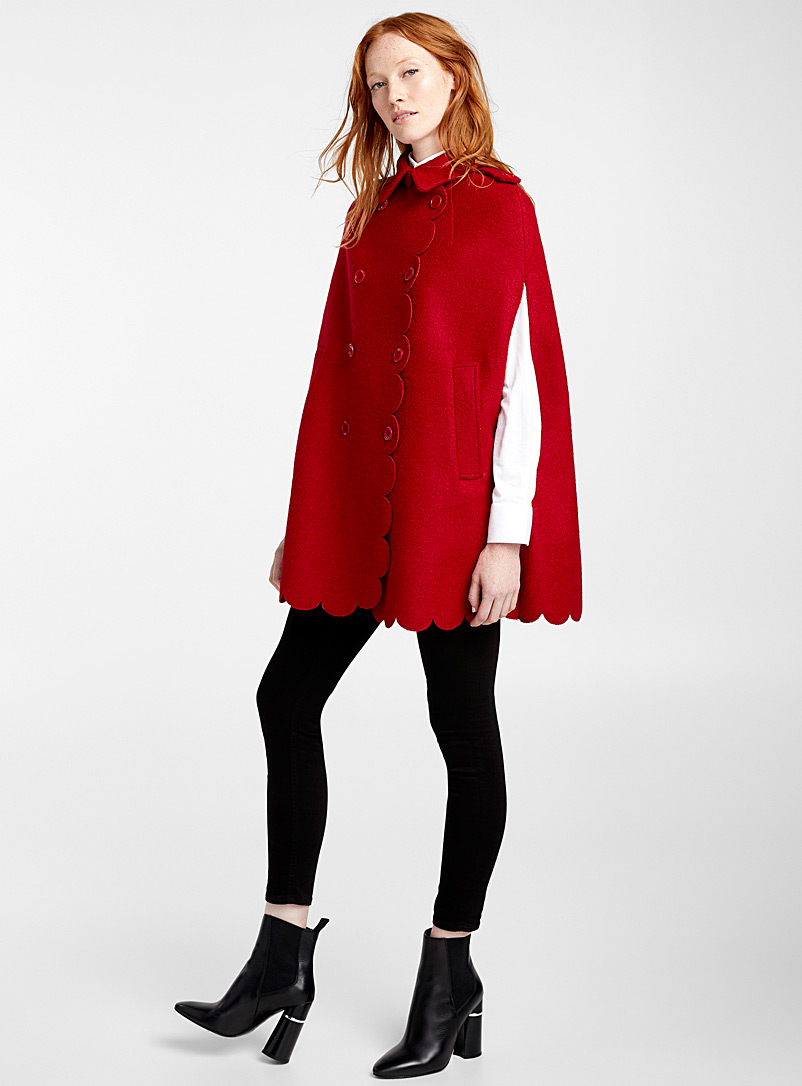 Double-breasted cape - Red Valentino - Red