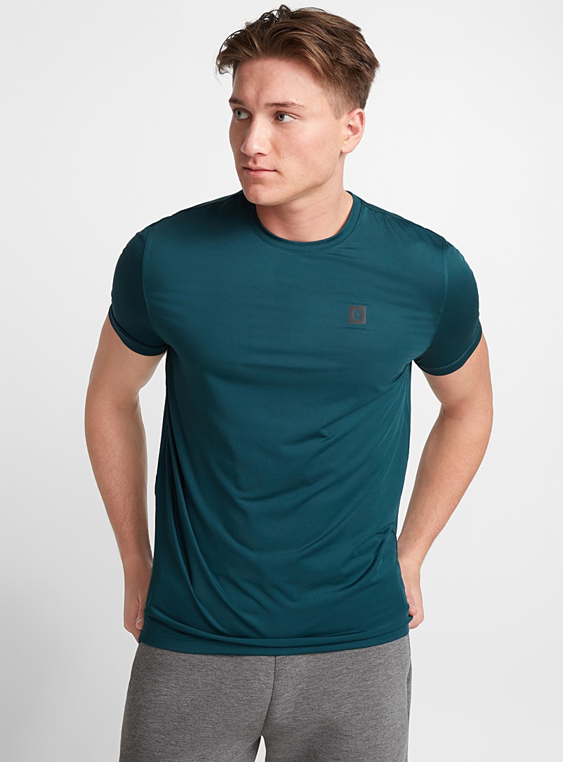 Essential microfibre tee - T-shirts - Bottle Green