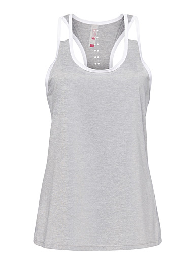 Laser-perforated back tank