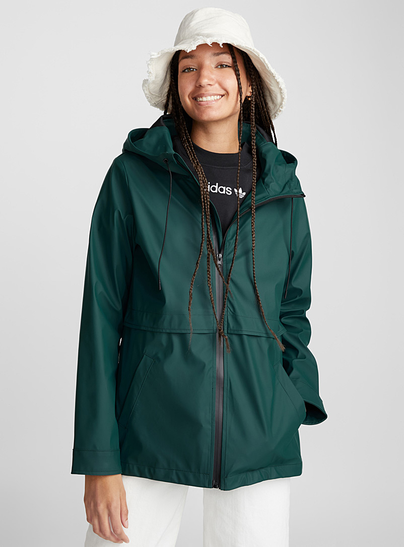 contrast-zip-raincoat
