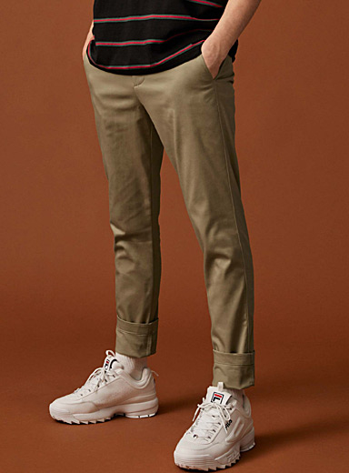 Organic cotton workwear pant <br>Slim fit