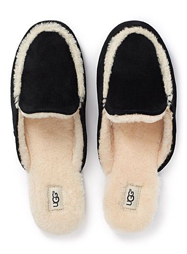 Lane mule slippers