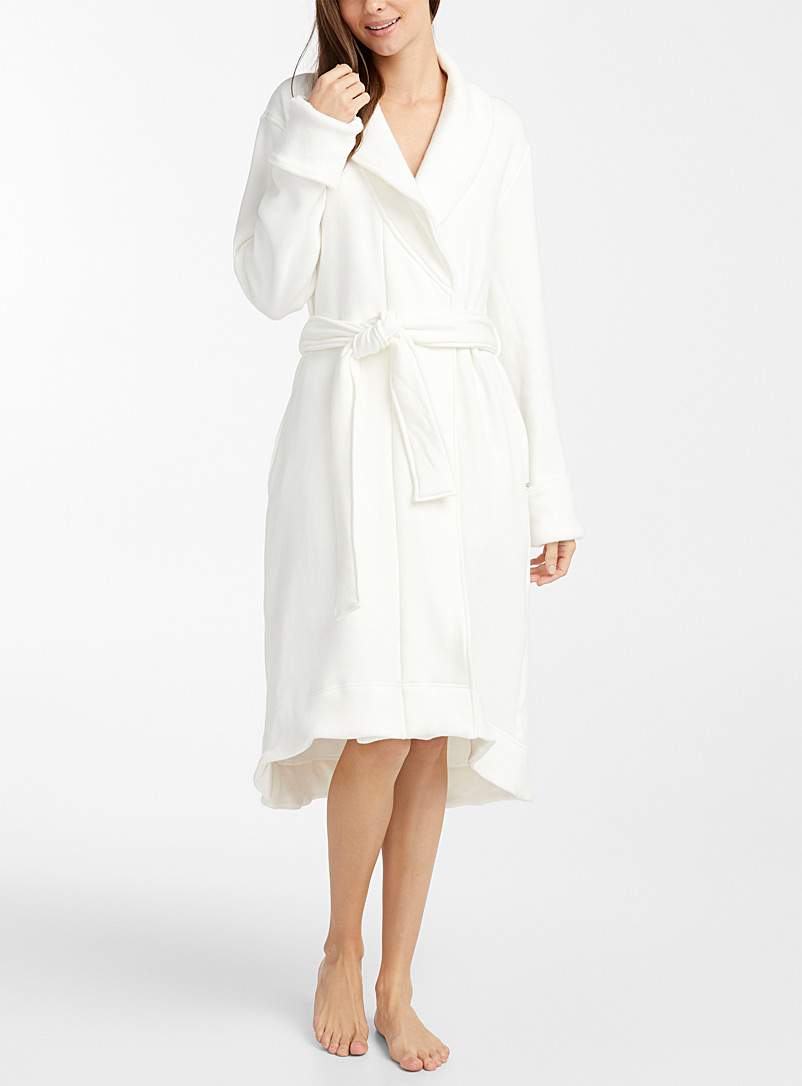 UGG White Duffield II robe for women