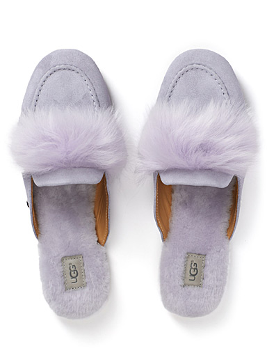 Shaine mule slippers