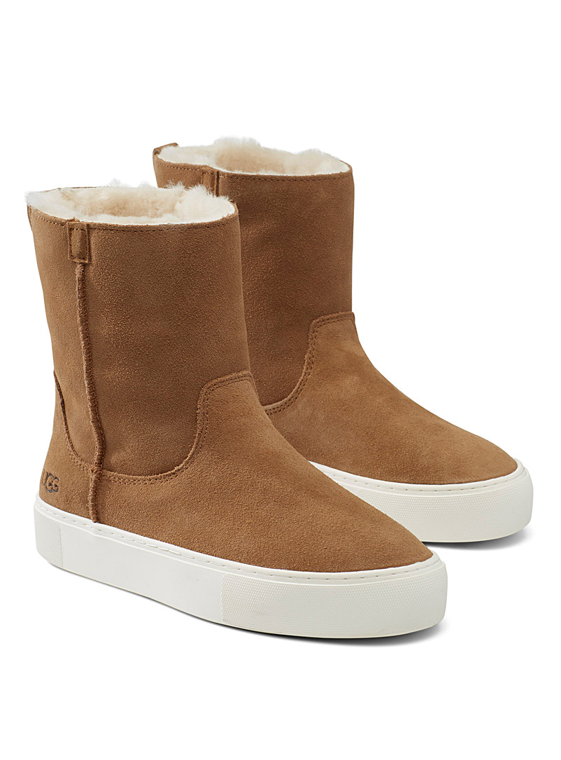 UGG Fawn Slip-on suede winter boots for women