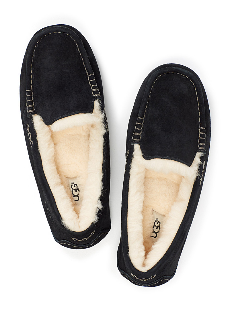 Ansley moccasin - Slippers - Black