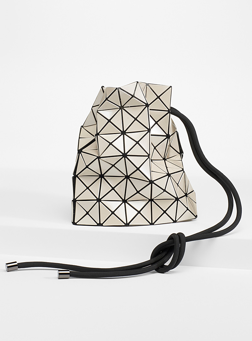 Bao Bao Issey Miyake Cream Beige Wring bucket bag for women