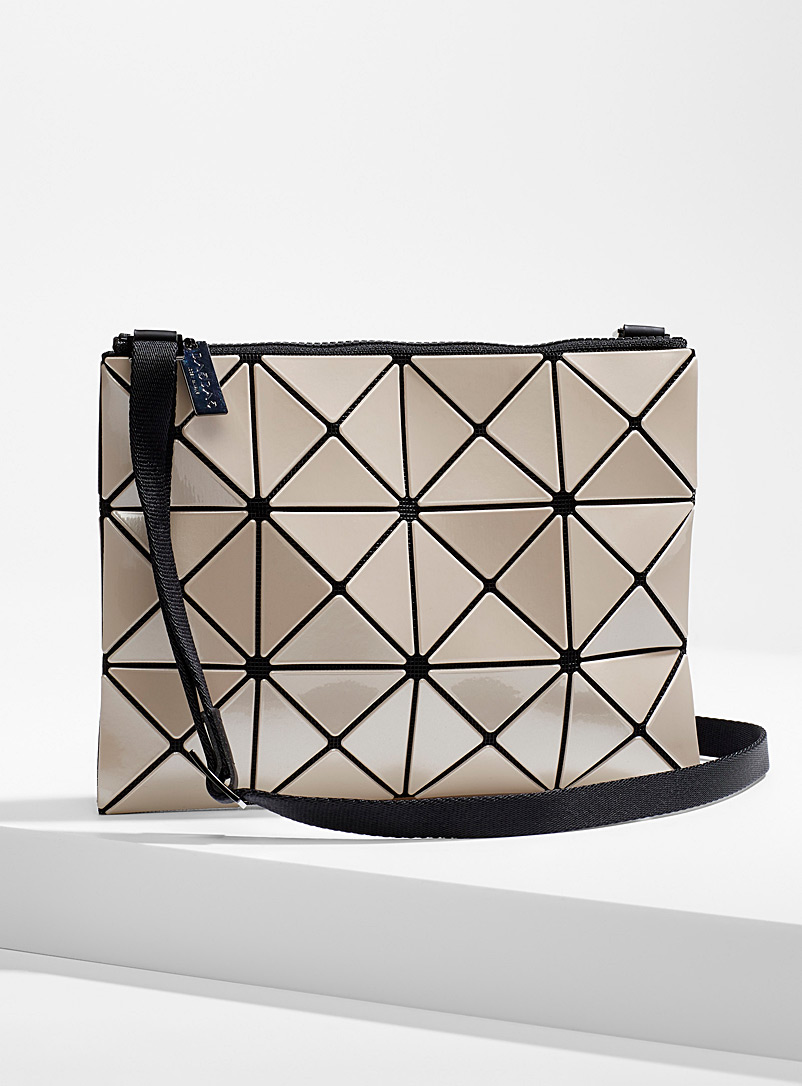 Bao Bao Issey Miyake Cream Beige Bao Bao Lucent crossbody for women