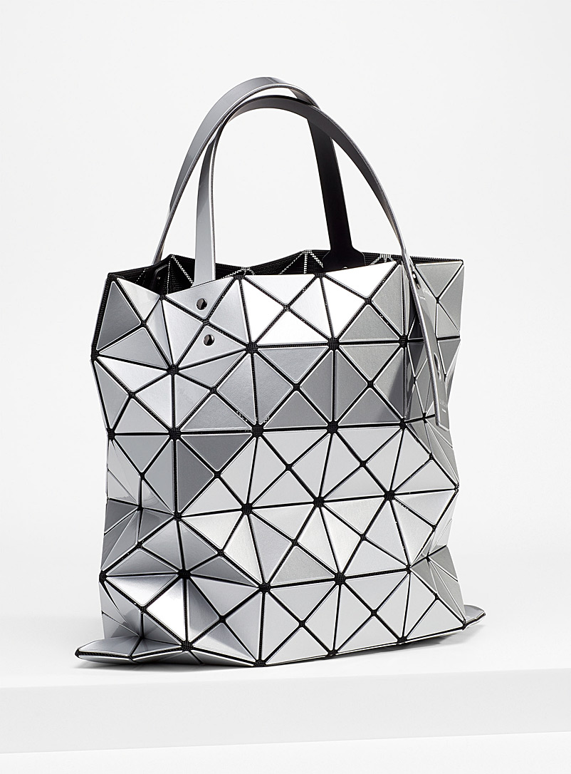 Bao Bao Issey Miyake Silver Lucent tote for women