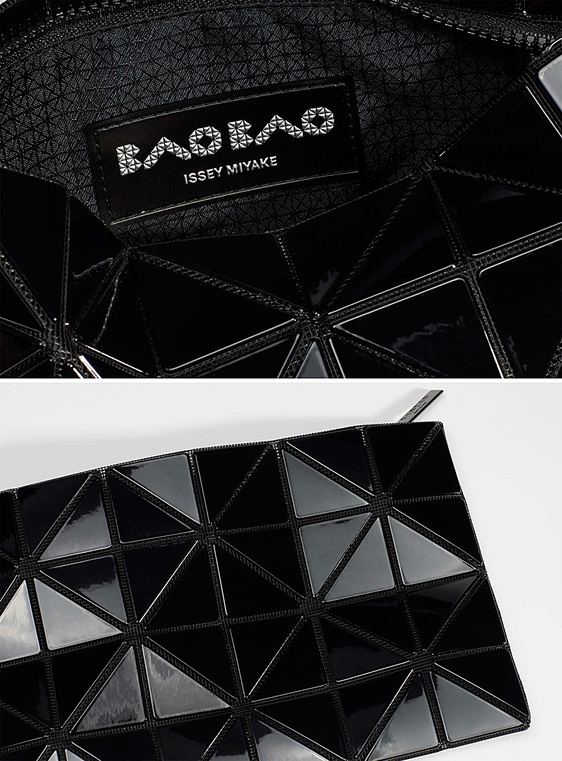 Bao Bao Issey Miyake Silver Lucent pouch for women
