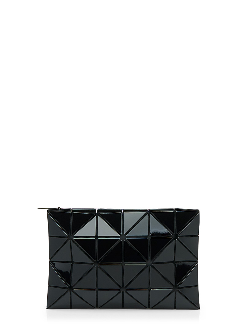 Bao Bao Issey Miyake Black Lucent clutch for women