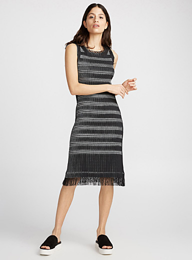 Gleam Stripes dress