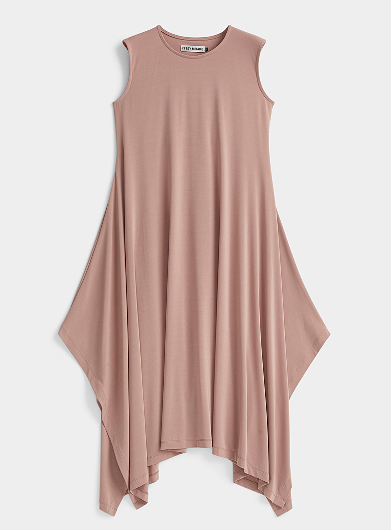 Issey Miyake Fawn Draped jersey dress for women