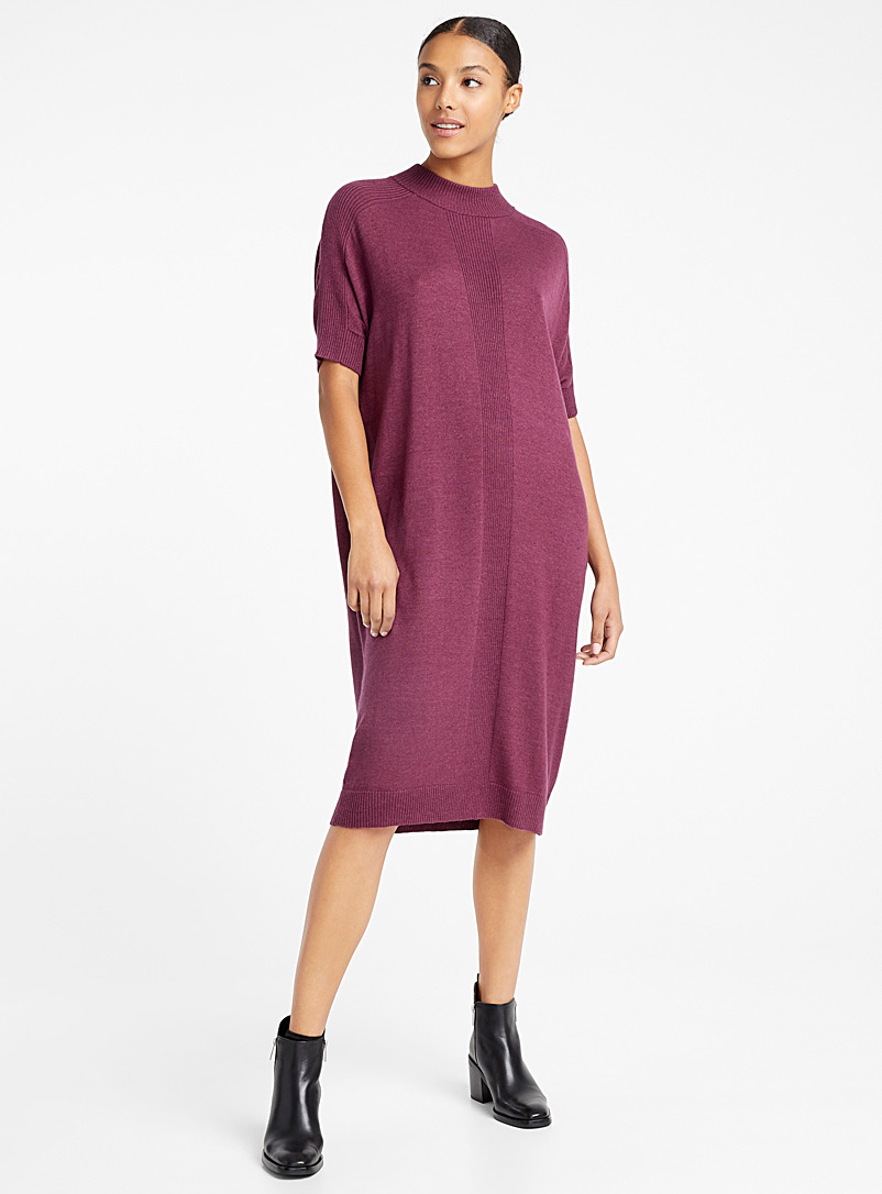 Merino sweater dress - Denis Gagnon - Red