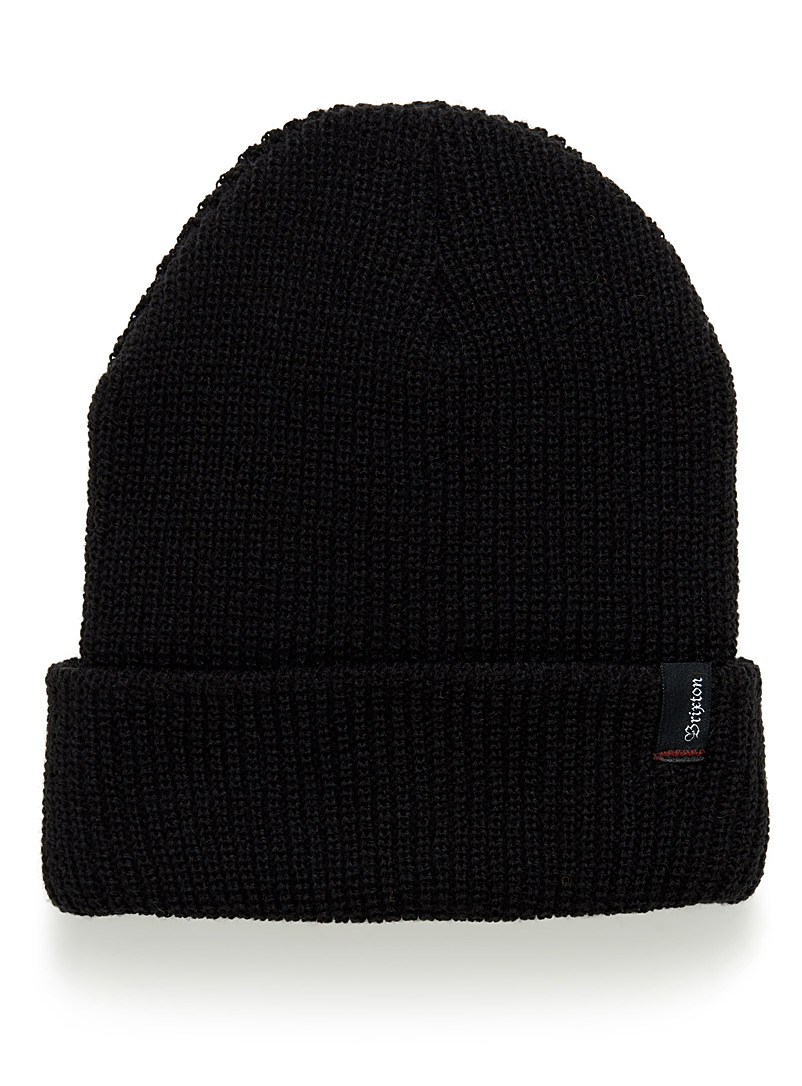 Heist logo emblem cuffed tuque - Tuques - Black