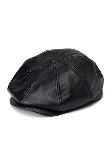 Leather Camelot cap