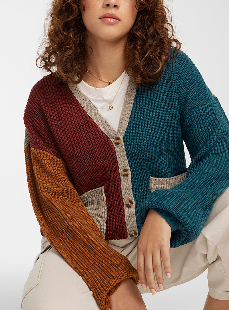 Brixton Assorted Four-colour cardigan for women