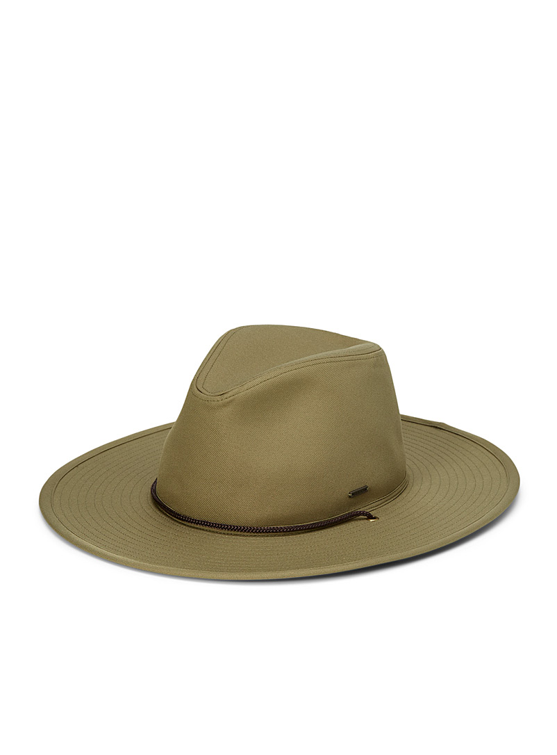 Brixton Mossy Green Field Crossover fedora for men