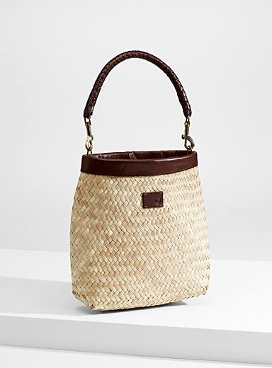 Layla straw bag