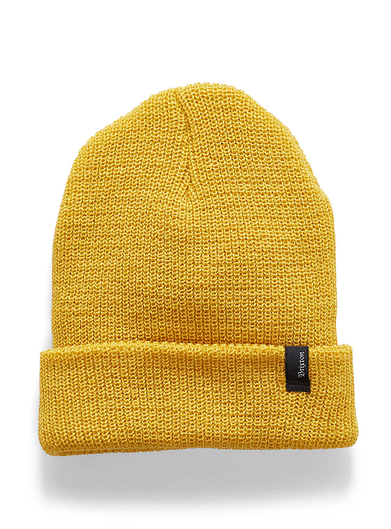 Heist tuque - Tuques & Berets - Golden Yellow
