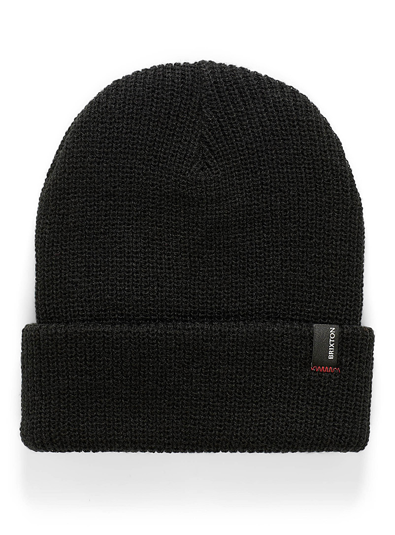 Brixton Black Heist tuque for women